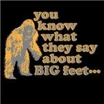 BIG feet... (Bigfoot)