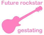 Future rockstar gestating - girl