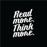 Read More.  Think More.
