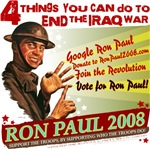 Ron Paul Iraq War design