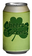 Irish Toast Beer Can