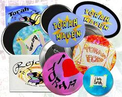 Simchat Torah Buttons