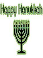 Basic Happy Hanukkah