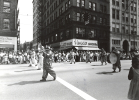 Vintage Youngstown - Clowns Downtown