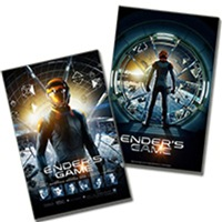 Ender's Game Stickers & Posters