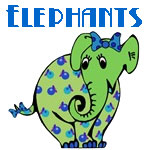 Cute Elephants Designs