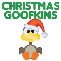 Cute Christmas Santa Goofkins
