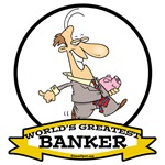 WORLDS GREATEST BANKER MALE CARTOON