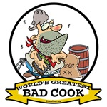 WORLDS GREATEST BAD COOK CARTOON