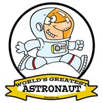 WORLDS GREATEST ASTRONAUT CARTOON