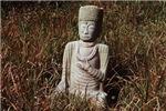 Budha Meditating in the Grass #2
