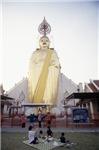 Giant Golden Buddha Monument