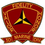 3rd Marine Division Banner Patch
