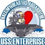 T-shirts, hats, mugs, stickers and gift items for USS Enterprise Family