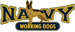 T-shirts, hats, stickers & gifts with Navy Working Dogs