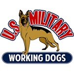 Military Working Dogs - Air Force, Army, Coast Guard, Marines & Navy