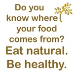 Eat natural, be healthy!
