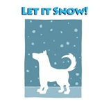 Let It Snow Dog