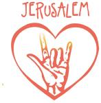 JERUSALEM (hand sign)