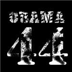 Vintage Stencil Obama 44