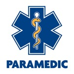 EMS Star of Life with Paramedic