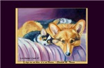 Art for the Corgi Lover's Soul Calendar