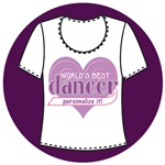 Personalize Your Dance T-Shirts and Gifts!