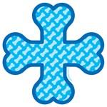 Cross Sign Bone