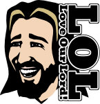 Laughing Jesus logo