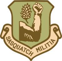 Sasquatch Militia emblem