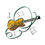 acoustic guitar graphic
