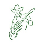 country musician green image