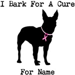 Bull Terrier Personalizable I Bark For A Cure