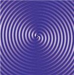 Purple 3D Spiral Designs