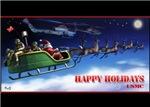 USMC Escorting Santa