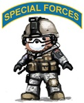U.S. Special Forces Teddy Bear T-Shirt & Gifts