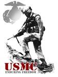 USMC ENDURING FREEDOM 2 T-Shirts & Gifts