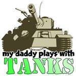 My Daddy plays with Tanks