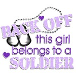 Back off! Soldier