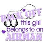 Back off! Airman