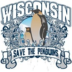 Save the Penguin Wisconsin T-Shirts and Gifts