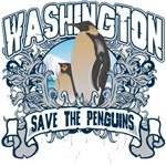 Save the Penguin Washington T-Shirts and Gifts