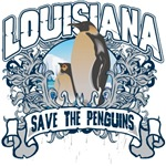Save the Penguins Louisiana T-Shirts and Gifts
