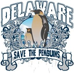 Save the Penguins Delaware T-Shirts and Gifts