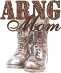 National Guard Mom Combat Boots N Dog Tags