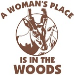 A Woman's Place Is In The Woods
