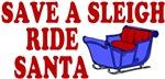 Save A Sleigh Ride Santa