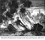 Hendrick Pruijt burned