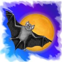Halloween Friends Vampire Bat