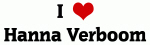 I Love Hanna Verboom